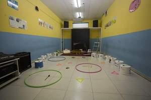 """Aula del """"Taller de música y movimiento"""""""